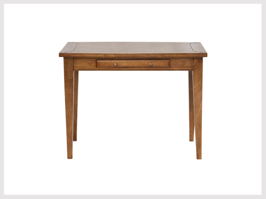 Classic Shaker provincial style fruitwood desk (LA25)