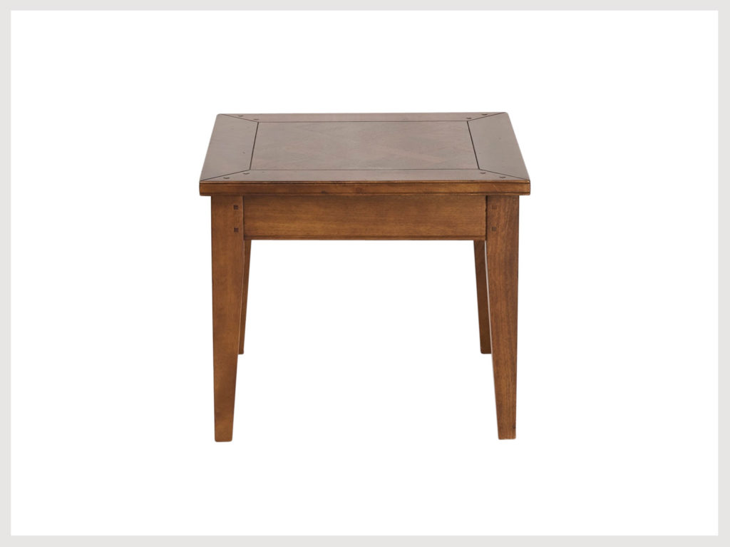 Classic Shaker style sIde table in fruitwood (LA27)
