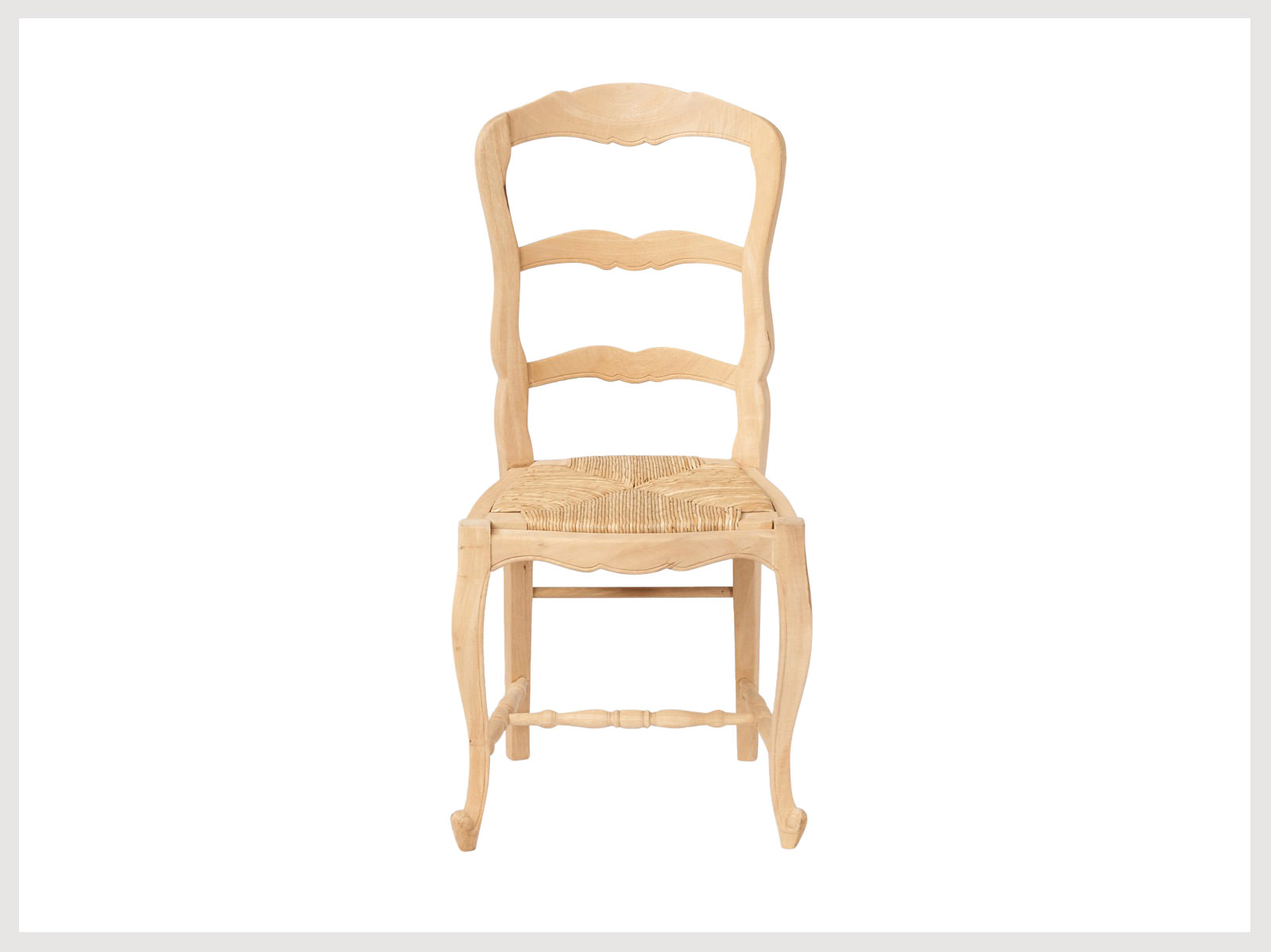 french country style chair  raw finish lr french furniture sydney