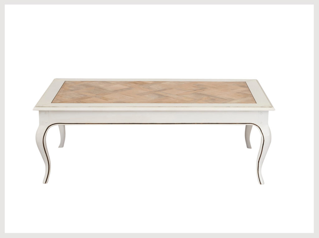 Classic provincial style not so shabby chic coffee table (LW9)