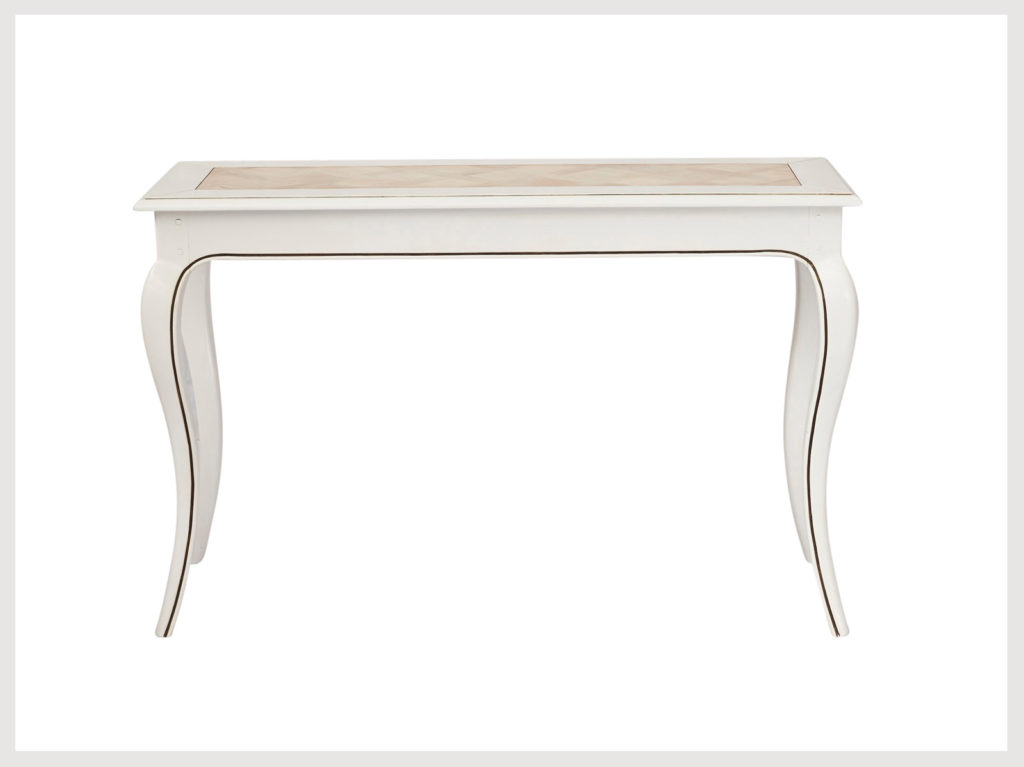 French provincial style not so shabby chic hall table (LW6)