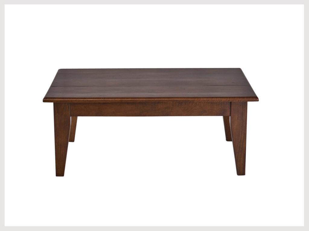 Contemporary fruitwood coffee table (P44)