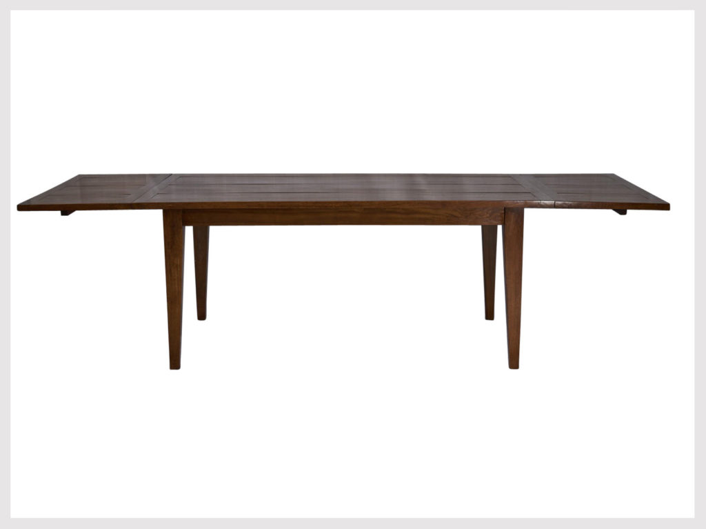 Contemporary style extension dining table very versatile (P41)