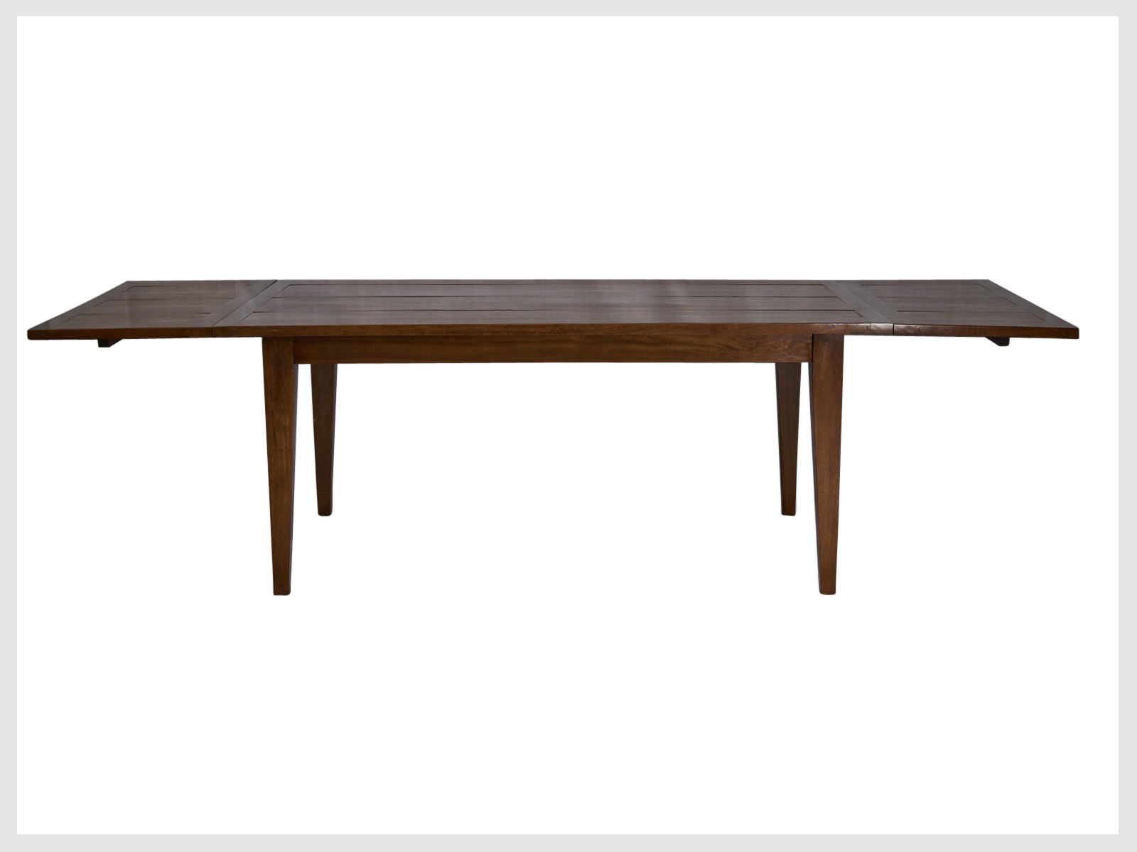 Contemporary Style Extension Dining Table Very Versatile